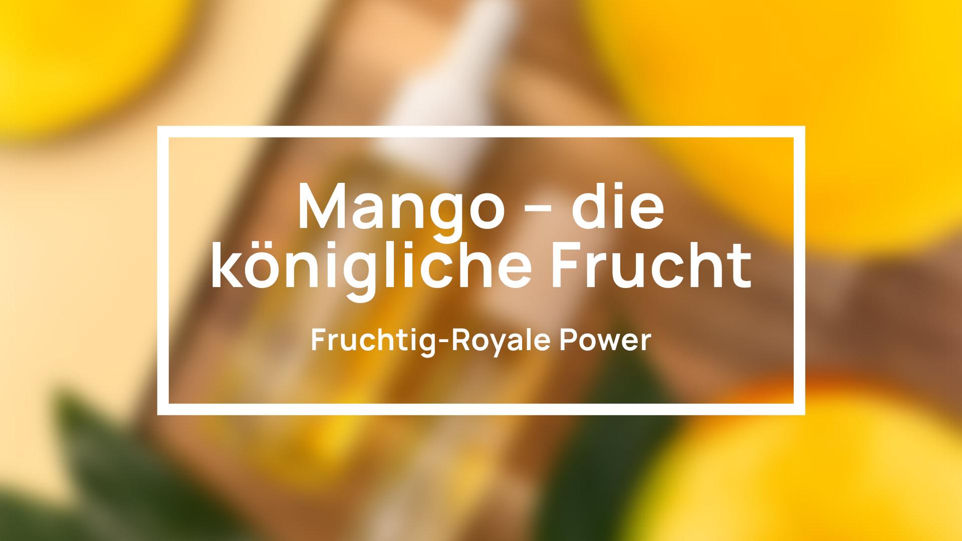Yves Swiss AG | Mango – Königliche Frucht